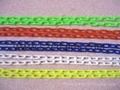 2MM鎖匙扣塑料鏈條