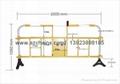 交通安全施工塑胶防护栏 1