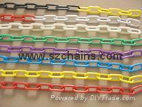 8MM红白相间塑料链条MCC
