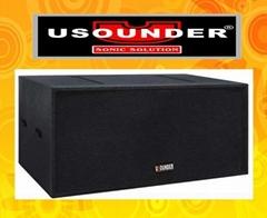 域聲LA-55B/88B超低頻線性音箱