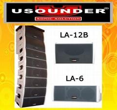 域声LA-6二分频全音域线性音箱
