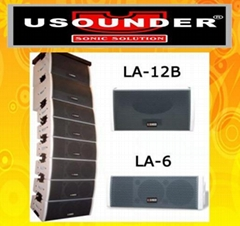 域聲LA-6二分頻全音域線性音箱