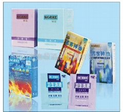 Condom / oil / emergency PO / men and women cleaning liquid ( 5 sets)
