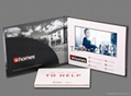 7 inch Video Brochure with Hard Cover and 4 Color Process Imprint