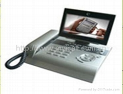 VOIP touch panel video phones