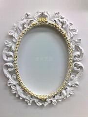 现在家居-树脂工艺品-壁挂镜子