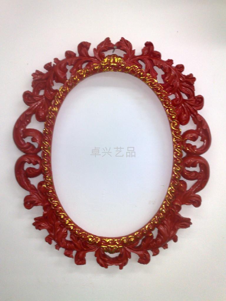 現在家居-樹脂工藝品-壁挂鏡子 2