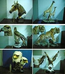 树脂动物野生系列