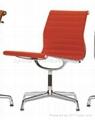Vitra aluminum group swivel chair EA-105