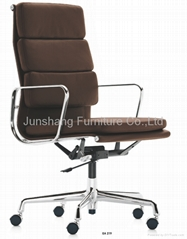 eames Soft Pad swivel management chair