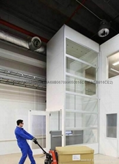 无尘室液压式导轨链条式升降机