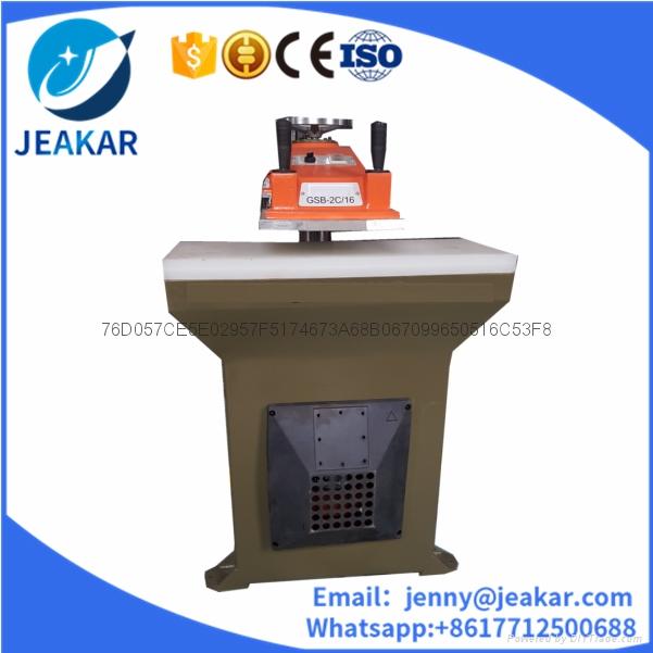16T hydraulic swing beam cutting press 4