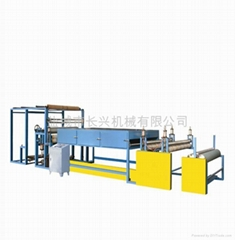 Sandpaper laminating machine