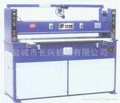 液压砂纸裁断机