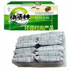 快活林活性炭600g鋁塑裝