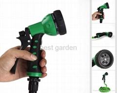 Magic hose with plastic 7 way hose