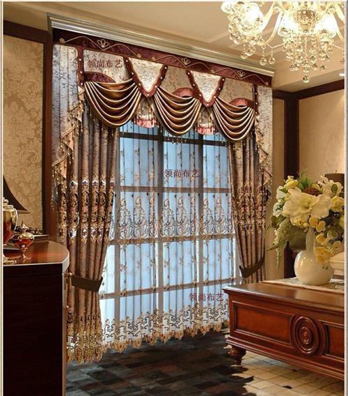 别墅奢华窗帘 1