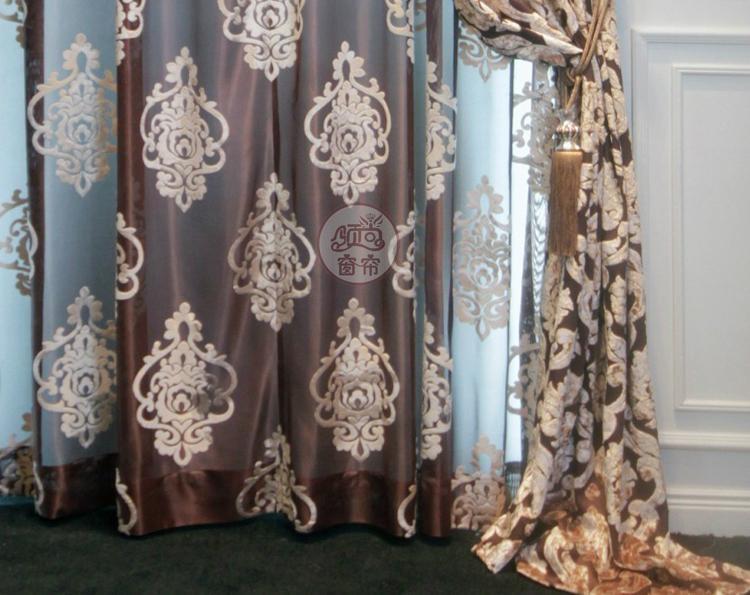 南韩植绒客厅窗帘 2