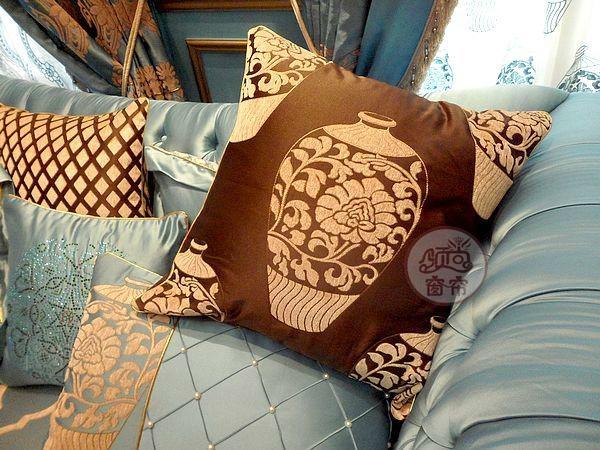 青花瓷窗帘 1