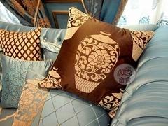 青花瓷窗帘