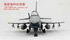 歼-10飞机模型