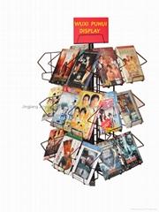 臺式DVD展示架