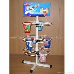 milky tea display stand