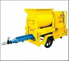 帶攪拌電動水泥砂漿灌漿機