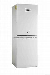Combined freezer and refrigerator