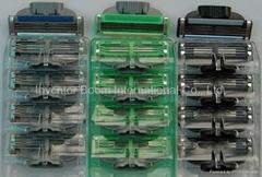 Compatible Mach 3 Shaving Razors 3 Layers Men Shavers Factory Wholesale