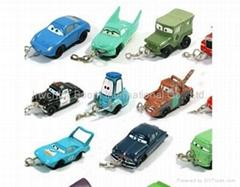 Pix car Keychain toys