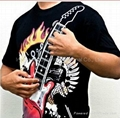 Wearable Rock Guitar T-Shirt Playable Electronic Rock Guitar Shirt For Adult