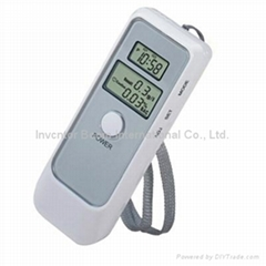 Detector Dual LCD Display Digital Alcohol Tester and Timer Analyzer Breathalyzer