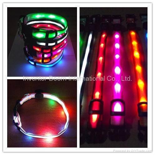 LED Dog Collar LED Leash Party LED Lanyard Flashing Shoelaces