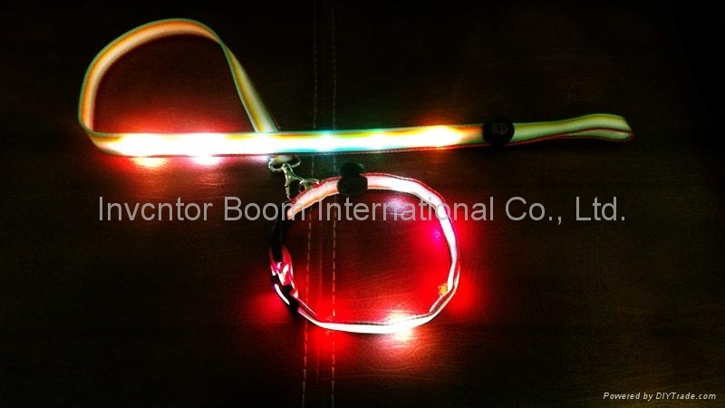 LED pet collar  Flashing Pet Leash
