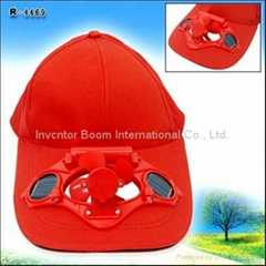 LED Solar Cap for use as