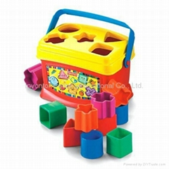 Fisher Price Block toys - Letter Color Plastic Toys