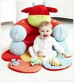 Blossom Farm Clover Cow Sit Me Up Cosy Baby seat Baby sofa