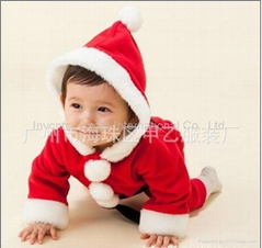 Baby clothes Chrismas Romper / Chrimascrawling baby clothes / Bodysuit /Romper -