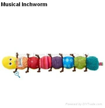 Lamaze Musical Inchworm Baby plush toys Musical toys Gifts toys baby products 4