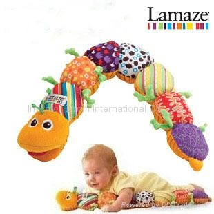 Lamaze Musical Inchworm Baby plush toys Musical toys Gifts toys baby products 1