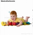 Lamaze Musical Inchworm Baby plush toys Musical toys Gifts toys baby products 2