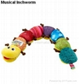 Lamaze Musical Inchworm Baby plush toys Musical toys Gifts toys baby products 3