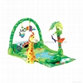Fisher-Price Rainforest 1-2-3 Musical Gym Fisher Price Baby Musical Play Mat