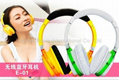 Wireless Stereo Bluetooth Headset Earphone Headphones For iPhone Samsung MI Etc.