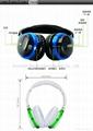Wireless Stereo Bluetooth Headset Earphone Headphones For iPhone Samsung MI Etc. 2
