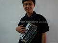 Electronic Piano Tee Shirt Wearable Playable Quality Musical Tshirt