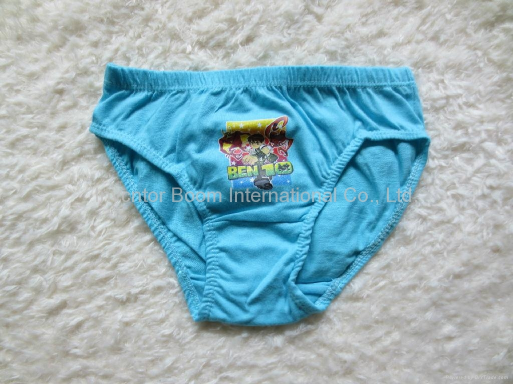 Cute Cartoon Mixed Designs Boy's Briefs Children Underwear  3