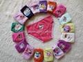 Cute Cartoon Mixed Designs Girl's Briefs Children Underwear