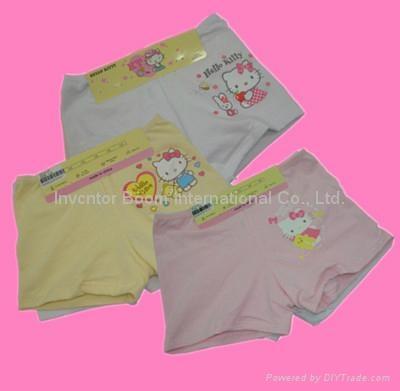 Girl Boxer  Girl Cotton Underwear Shorts Flat Briefs  1